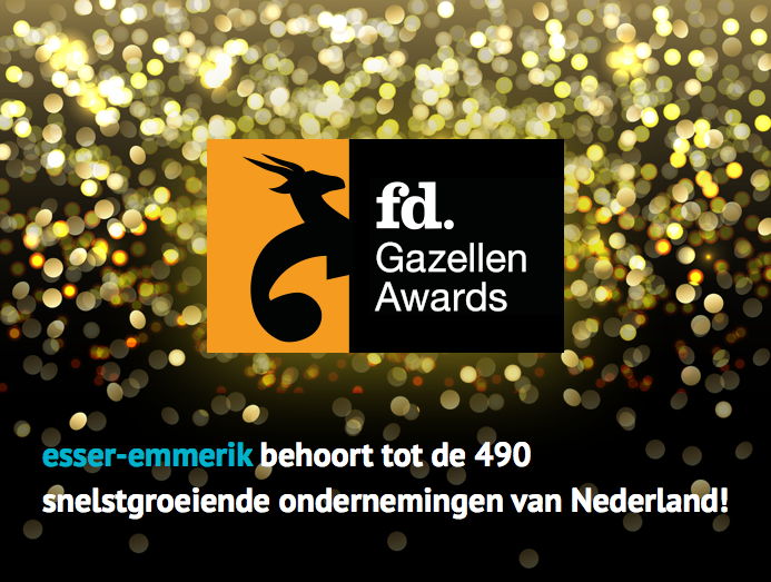 esser-emmerik winnaar FD Gazellen award 2015