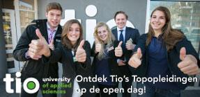 Ontdek Tio's Topopleidingen op de open dag!